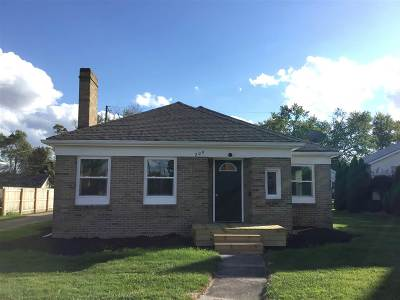 Butler Single Family Home For Sale: 206 W Main St