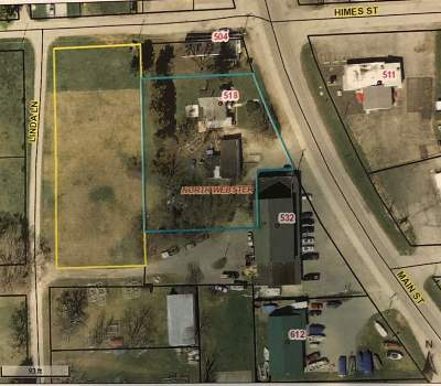 North Webster Commercial For Sale: 518 S Main St Street