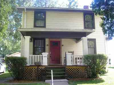 Allen County Single Family Home For Sale: 1821 W 3rd Street