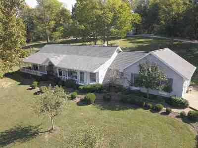 Evansville Single Family Home For Sale: 2816 Sensmeier Road
