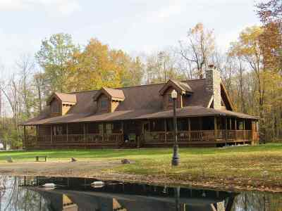 Allen County Single Family Home For Sale: 11718 N County Line Road