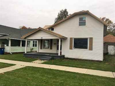Marion Single Family Home For Sale: 3512 S Boots Street
