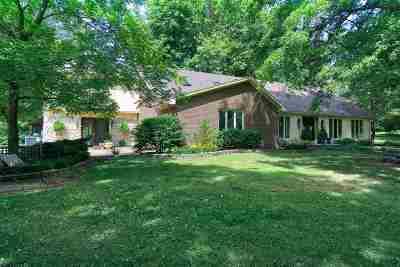 Evansville Single Family Home For Sale: 1918 Fleener Road