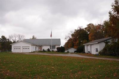 Plymouth IN Single Family Home For Sale: $299,500