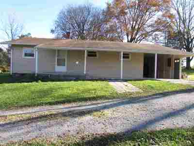 Whitley County Single Family Home For Sale: 6443 W Pook Rd