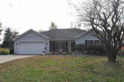 Spencer County Single Family Home For Sale: 1053 W Silent Ln