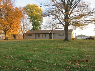 LaGrange County Single Family Home For Sale: 1060 W Us Highway 20