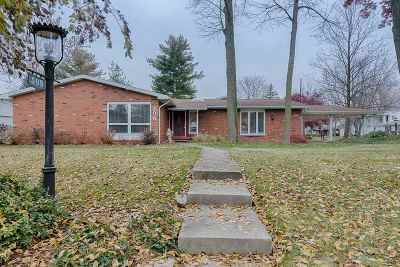 Wabash Single Family Home For Sale: 508 Oxford Drive