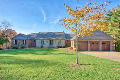 Evansville Single Family Home For Sale: 12466 Apache Pass