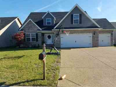 Evansville Single Family Home For Sale: 8729 Hartwell Dr