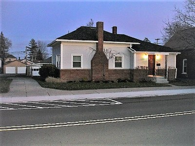 Noble County Single Family Home For Sale: 141 S Main St. Highway