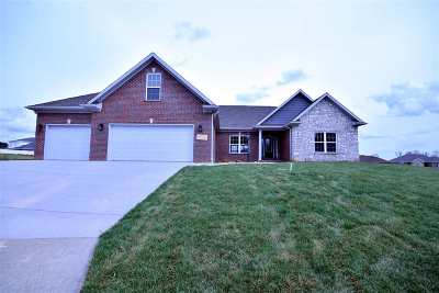 Evansville Single Family Home For Sale: 2801 Locker Court