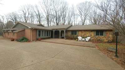 Evansville Single Family Home For Sale: 6521 Middle Mount Vernon Road