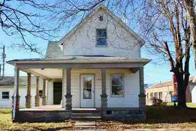 Otterbein Single Family Home For Sale: 26 S Brown Street