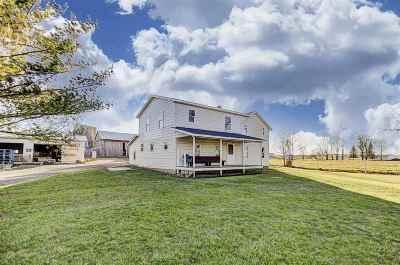 Hamilton Single Family Home For Sale: 8635 E 400 S