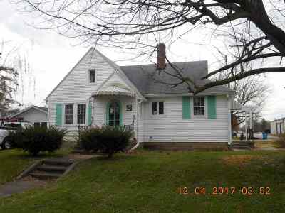 Summitville Single Family Home For Sale: 819 E Walnut Street