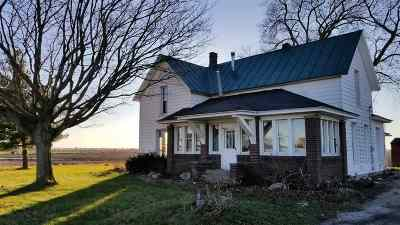 Kosciusko County Single Family Home Cont-Accptngbackupoffers: 9593 N Old State Road 15