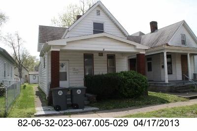 Evansville Single Family Home Back On Market: 721 Monroe