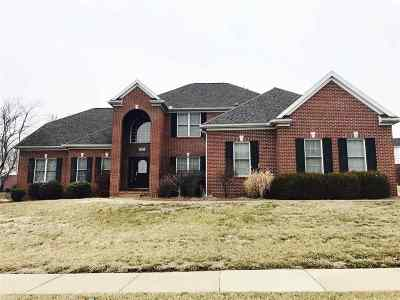 Evansville Single Family Home For Sale: 1206 Longmeadow Way