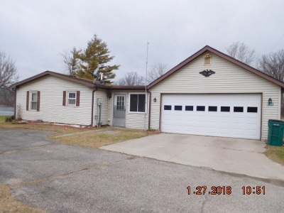 Lagrange County, Noble County Manufactured Home For Sale: 6360 N 325 E Cedar Lake