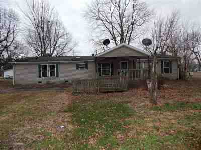 Spencer County Single Family Home For Sale: 6237 W Lincoln Street