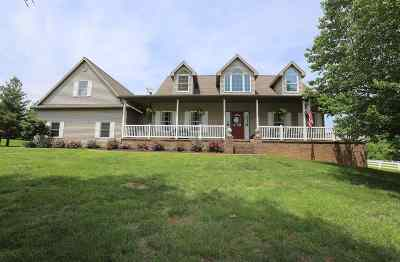 Evansville Single Family Home For Sale: 6101 Joes Drive