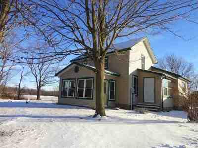 Angola Single Family Home For Sale: 9885 E Metz Rd