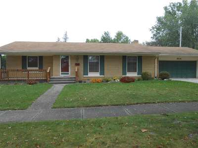 Fort Wayne Single Family Home For Sale: 924 Ardis Drive