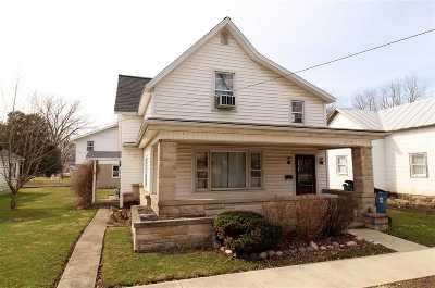 Fairmount Single Family Home For Sale: 317 N Mill Street