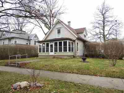 Wabash Single Family Home For Sale: 408 W Hill Street