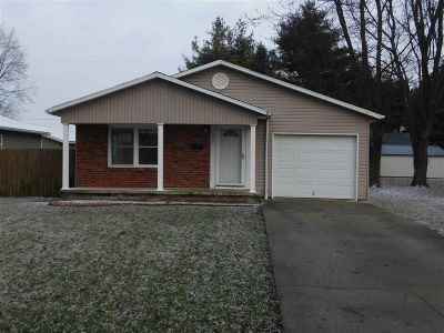Fairmount Single Family Home For Sale: 1012 N Elm