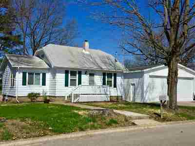 Culver Single Family Home For Sale: 417 N Slate Street