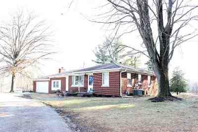 Newburgh Single Family Home For Sale: 7177 Oak Grove Road