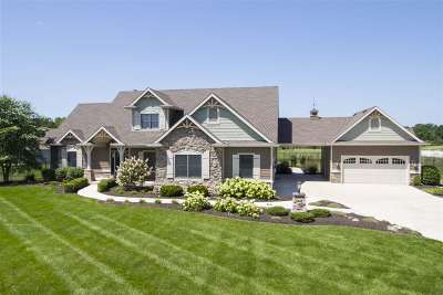 Allen County Single Family Home For Sale: 11828 Distant Hills