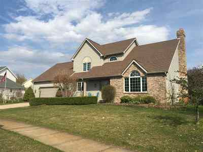 St. Joseph County Single Family Home For Sale: 53064 Woodmar Drive