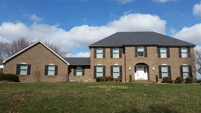 Evansville Single Family Home For Sale: 18 Oak Meadow