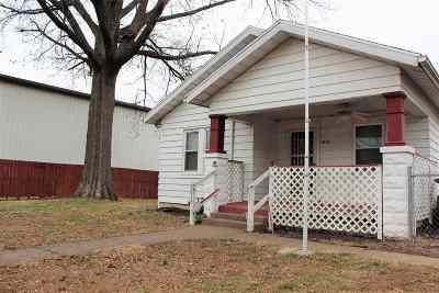 Evansville Single Family Home For Sale: 1612 E Koch