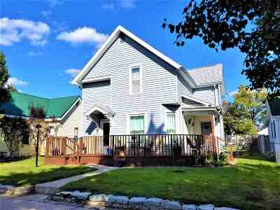 Marion Single Family Home For Sale: 105 S G Street