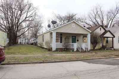 Evansville IN Single Family Home For Sale: $49,500