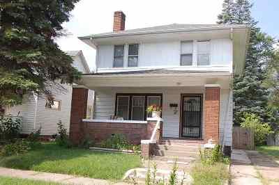 St. Joseph County Single Family Home For Sale: 1017 Johnson