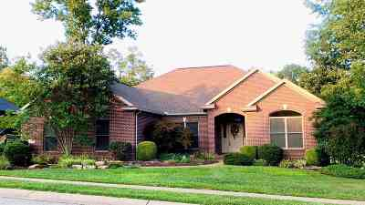 Evansville Single Family Home For Sale: 10901 Driver Drive
