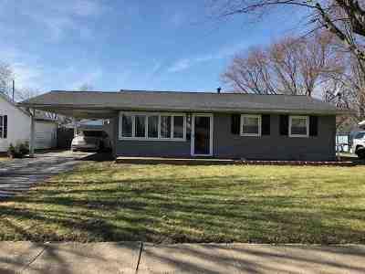 Marion Single Family Home For Sale: 713 N Lancelot Avenue