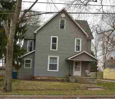 Wabash Single Family Home Cont-Accptngbackupoffers: 421 E Hill