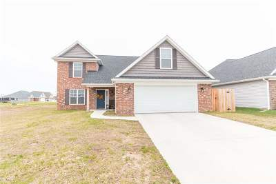 Evansville Single Family Home For Sale: 3643 Dodgers Drive