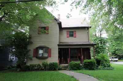 Wabash Single Family Home For Sale: 292 N Carroll St