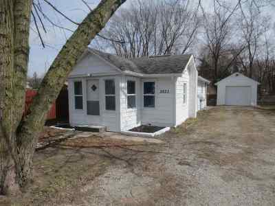 Fort Wayne IN Single Family Home For Sale: $52,000