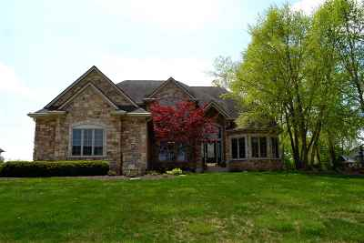 Fort Wayne Single Family Home For Sale: 12309 McKays Pt.