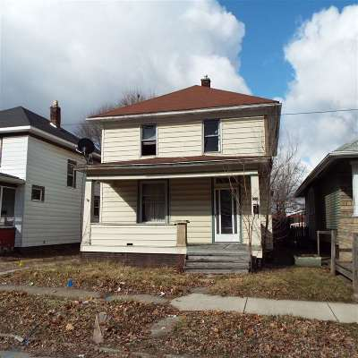Fort Wayne IN Single Family Home For Sale: $27,900