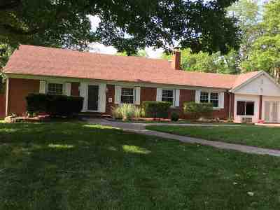 Evansville Single Family Home For Sale: 5420 Lincoln Avenue