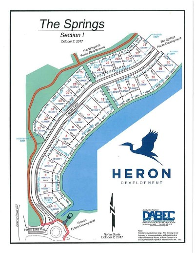 Auburn Residential Lots & Land For Sale: Lot 7 Cascina Lane Heron Lk